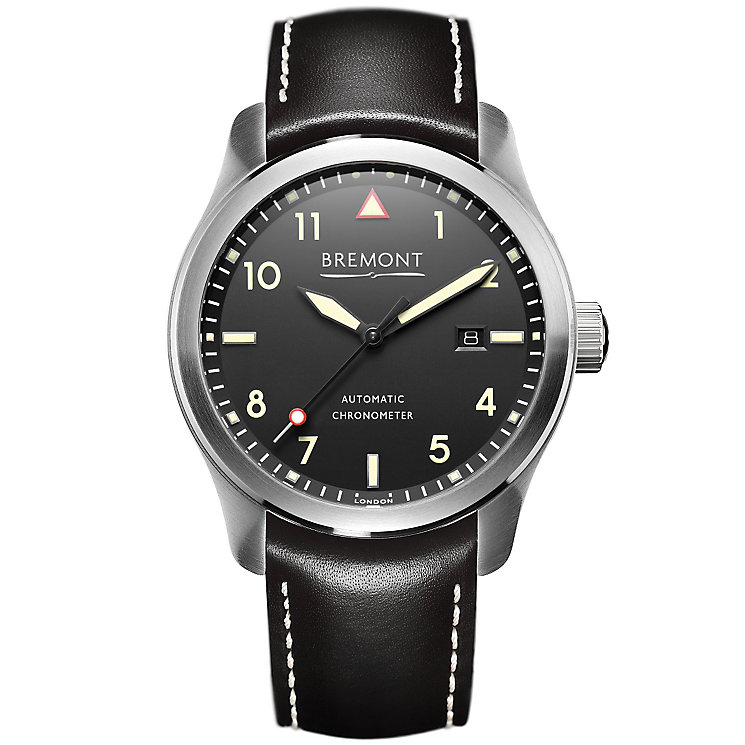 Bremont SOLO/CR Men's Stainless Steel Strap Watch - Product number 5129354