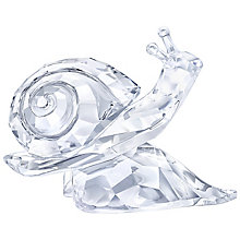 Swarovski Crystal Snail On A Leaf Ornament - Product number 5130921