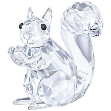 Swarovski Crystal Squirrel Ornament - Product number 5130948