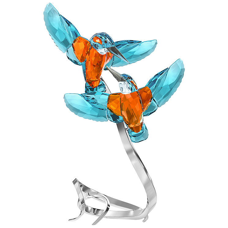 Swarovski Crystal Kingfisher Couple Ornament - Product number 5130972