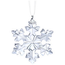 Swarovski Christmas Snowflake Ornament Annual Edition 2016 - Product number 5130999