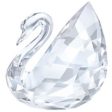 Swarovski Crystal Swan Ornament - Product number 5131030