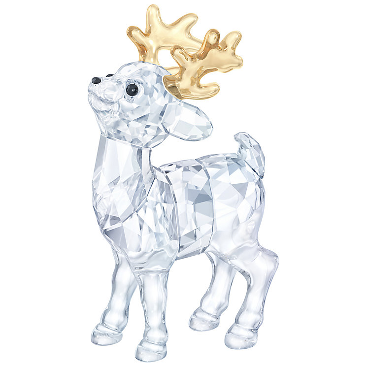 Swarovski Santa's Reindeer Ornament - Product number 5131103