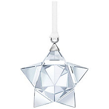 Swarovski Silver Tone Crystal Star Ornament - Product number 5131138