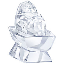 Swarovski Crystal Nativity Scene Baby Jesus Ornament - Product number 5131162