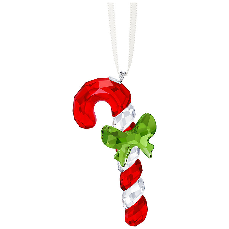 Swarovski Crystal Candy Cane Ornament - Product number 5131170