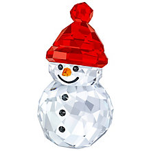 Swarovski Crystal Rocking Snowman Ornament - Product number 5131189