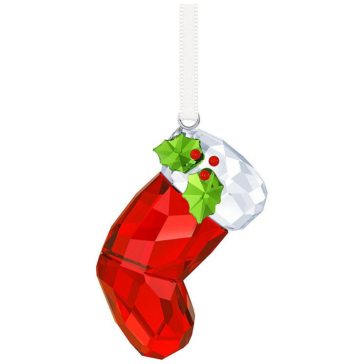 Swarovski Crystal Santa's Stocking Ornament - Product number 5131197