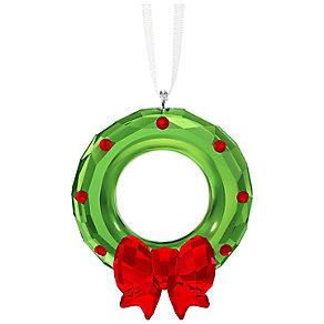 Swarovski Crystal Christmas Wreath Ornament - Product number 5131235