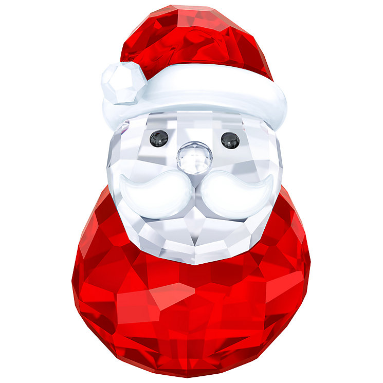 Swarovski Crystal Rocking Santa Ornament - Product number 5131243