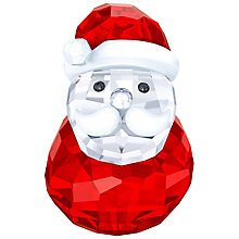 Swarovski Crystal Rocking Santa Ornament - Product number 5131243