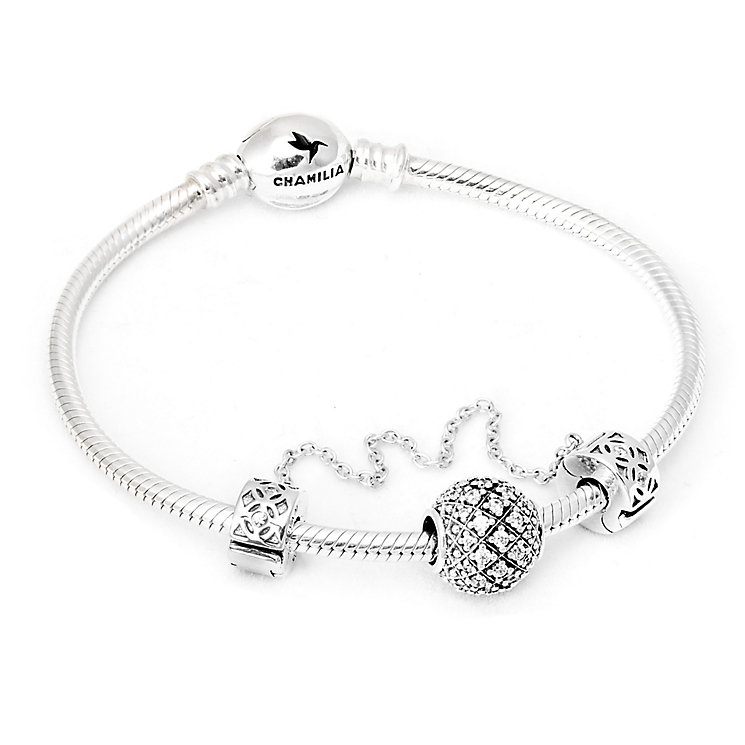 Chamilia Alight Sterling Silver Gift Set - Product number 5131359