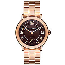 Marc Jacobs Riley Ladies' Rose Gold Tone Bracelet Watch - Product number 5131472