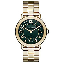 Marc Jacobs Riley Ladies' Gold Tone Bracelet Watch - Product number 5131480