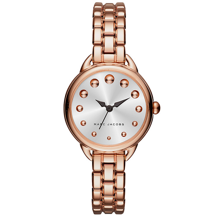Marc Jacobs Betty Ladies' Rose Gold Tone Bracelet Watch - Product number 5131588