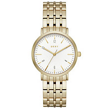 DKNY Ladies' Gold Tone Bracelet Watch - Product number 5131731
