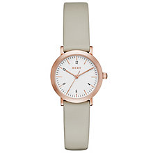 DKNY Ladies' Rose Gold Tone Strap Watch - Product number 5131804