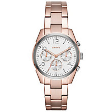 DKNY Ladies' Rose Gold Tone Bracelet Watch - Product number 5131812