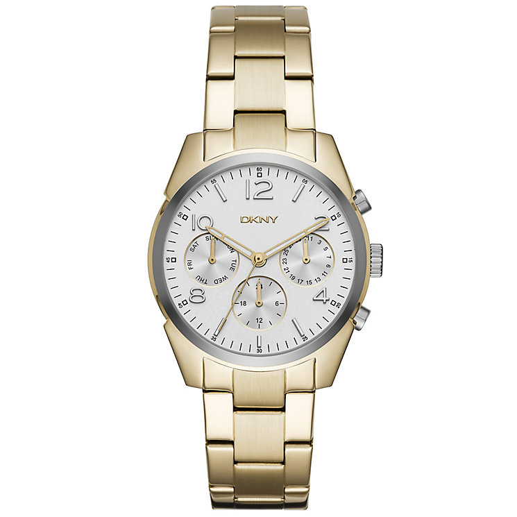 DKNY Ladies' Gold Tone Bracelet Watch - Product number 5131820