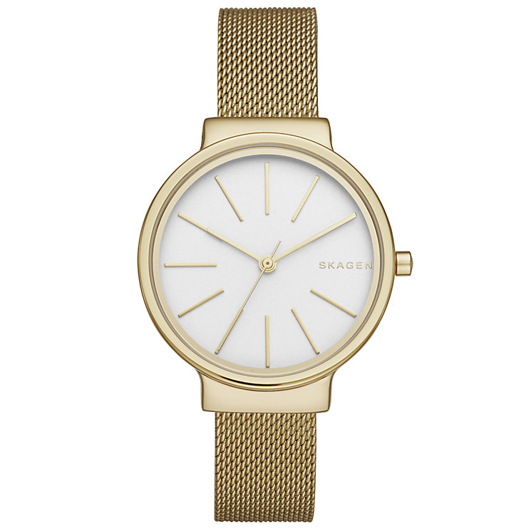 Skagen Ancher Ladies' Gold Tone Bracelet Watch - Product number 5133246