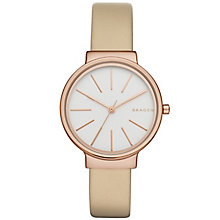 Skagen Ancher Ladies' Rose Gold Tone Strap Watch - Product number 5133300