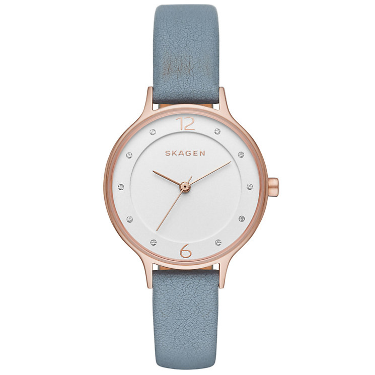 Skagen Anita Ladies' Gold Tone Strap Watch - Product number 5133327