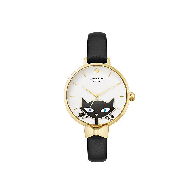 Kate Spade Novelty Ladies' Gold Tone Strap Watch - Product number 5133882
