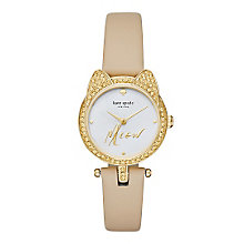 Kate Spade Novelty Ladies' Gold Tone Strap Watch - Product number 5133890