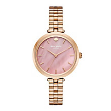 Kate Spade Holland Ladies' Rose Gold Tone Bracelet Watch - Product number 5133912