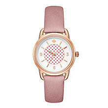 Kate Spade Ladies' Rose Gold Tone Strap Watch - Product number 5133920
