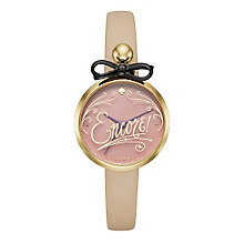 Kate Spade Ladies' Gold Tone Encore Strap Watch - Product number 5133971