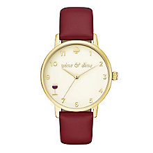 Kate Spade Metro Ladies' Gold Tone Strap Watch - Product number 5134013