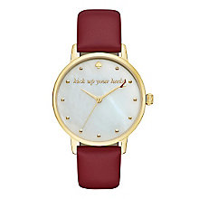Kate Spade Metro Ladies' Gold Tone Strap Watch - Product number 5134048