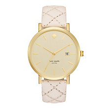 Kate Spade Metro Grand Rose Gold Tone Strap Watch - Product number 5134056