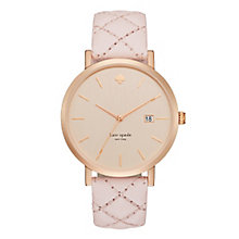 Kate Spade Metro Grand Gold Tone Strap Watch - Product number 5134064