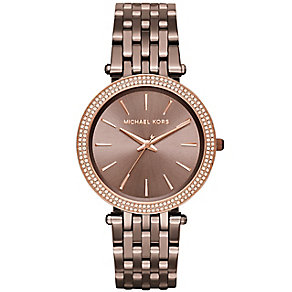 Michael Kors Darci Ladies' Ion Plated Bracelet Watch - Product number 5134242