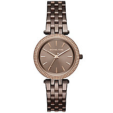 Michael Kors Darci Ladies' Ion Plated Bracelet Watch - Product number 5134269