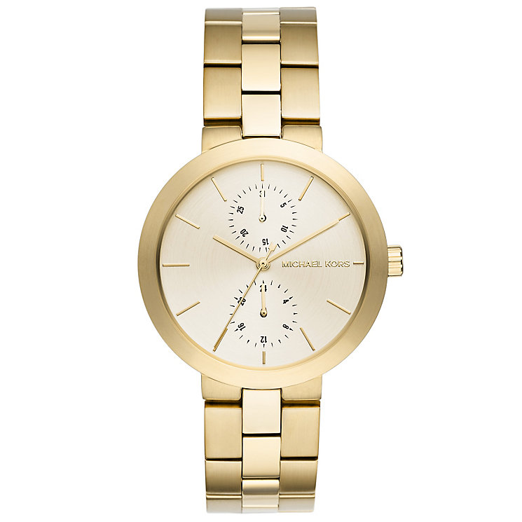 Michael Kors Ladies' Gold Tone Bracelet Watch - Product number 5134323