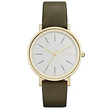 Skagen Hald Ladies' Gold Tone Strap Watch - Product number 5134358
