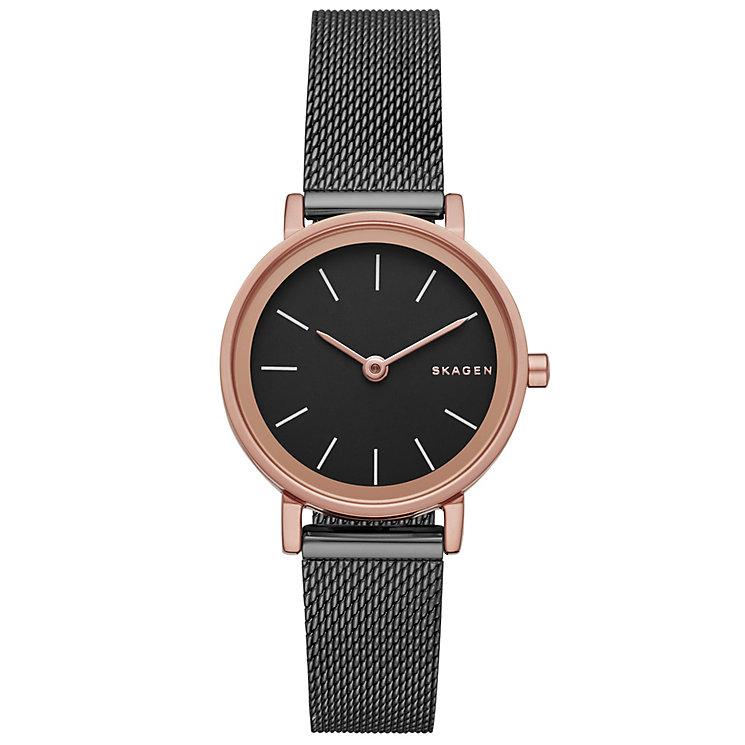 Skagen Hald Ladies' Rose Gold Tone Bracelet Watch - Product number 5137829