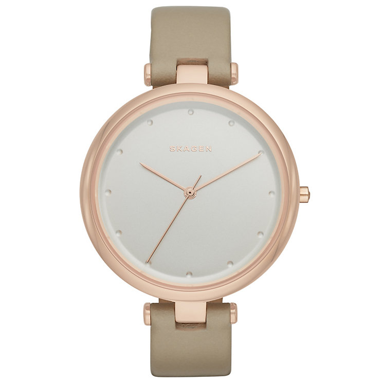 Skagen Tanja Ladies' Rose Gold Tone Strap Watch - Product number 5141451