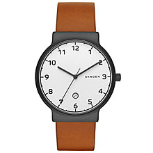 Skagen Ancher Men's Ion Plated Strap Watch - Product number 5141508