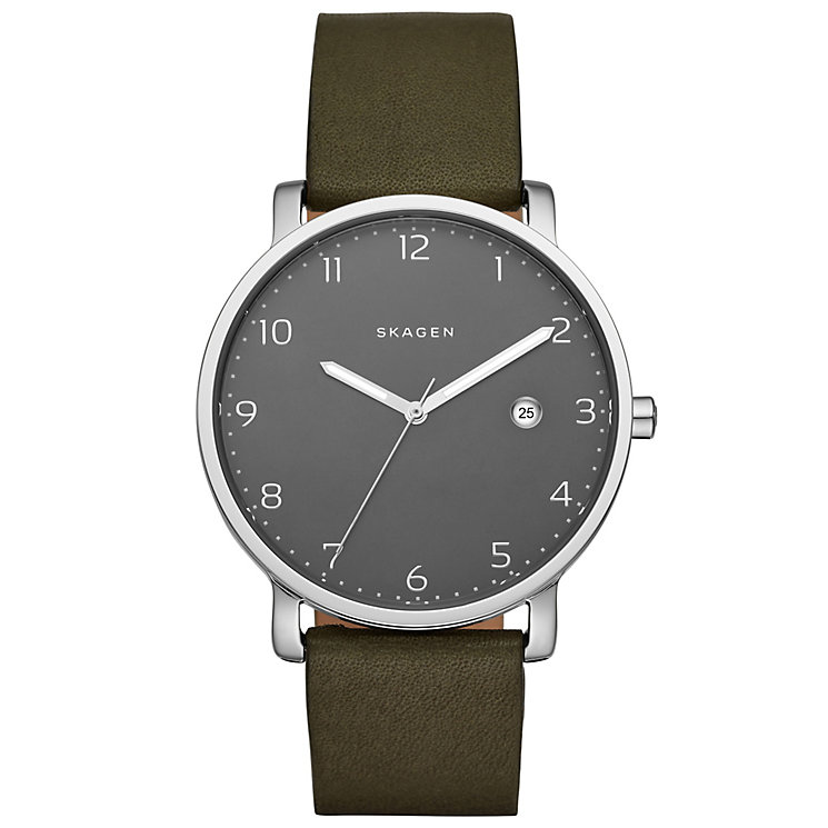 Skagen Hagen Men's Stainless Steel Strap Watch - Product number 5141532
