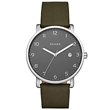 Skagen Hagen Men's Stainless Steel Strap Watch - Product number 5141532