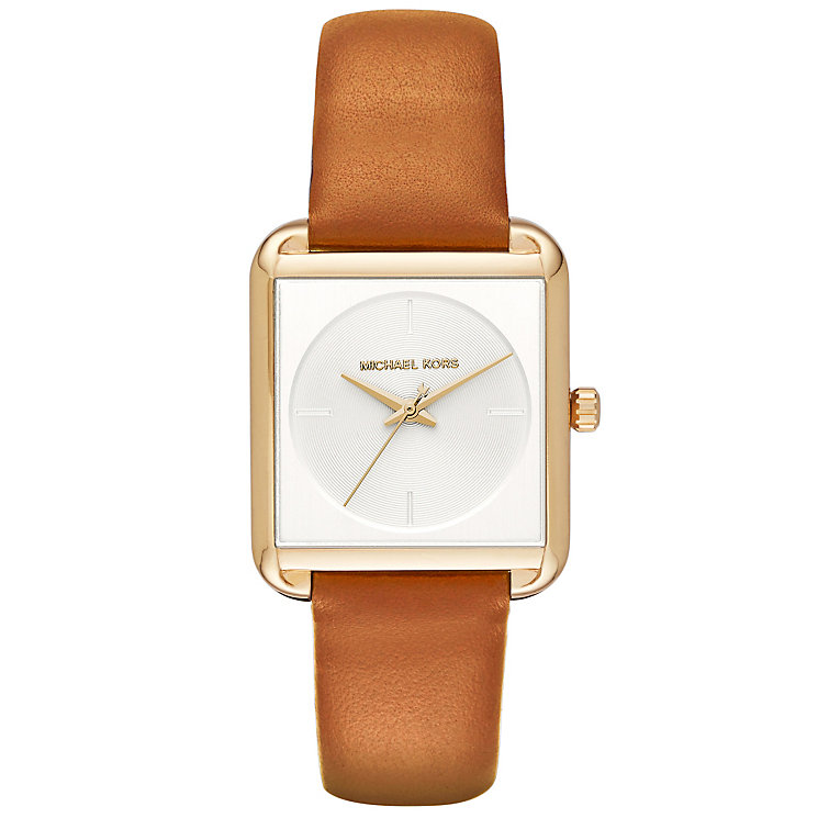 Michael Kors Ladies' Gold Tone Strap Watch - Product number 5141540