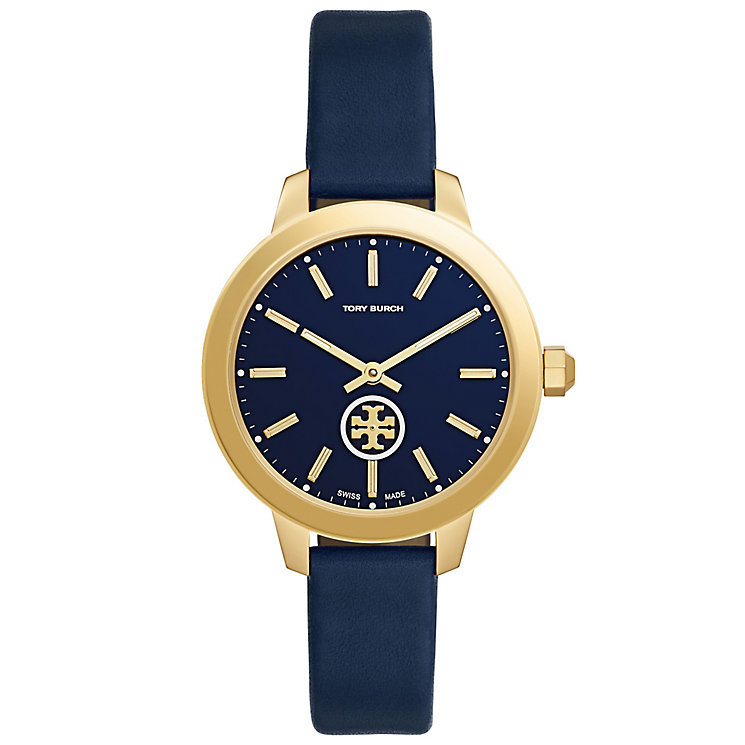 Tory Burch Collins Ladies' Gold Tone Strap Watch - Product number 5141575