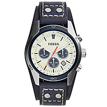 Fossil Coachman Men's Stainless Steel Strap Watch - Product number 5141664