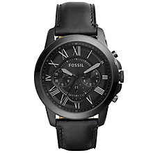 Fossil Grant Men's Ion Plated Strap Watch - Product number 5141680