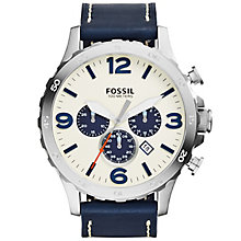 Fossil Nate Men's Stainless Steel Strap Watch - Product number 5141737