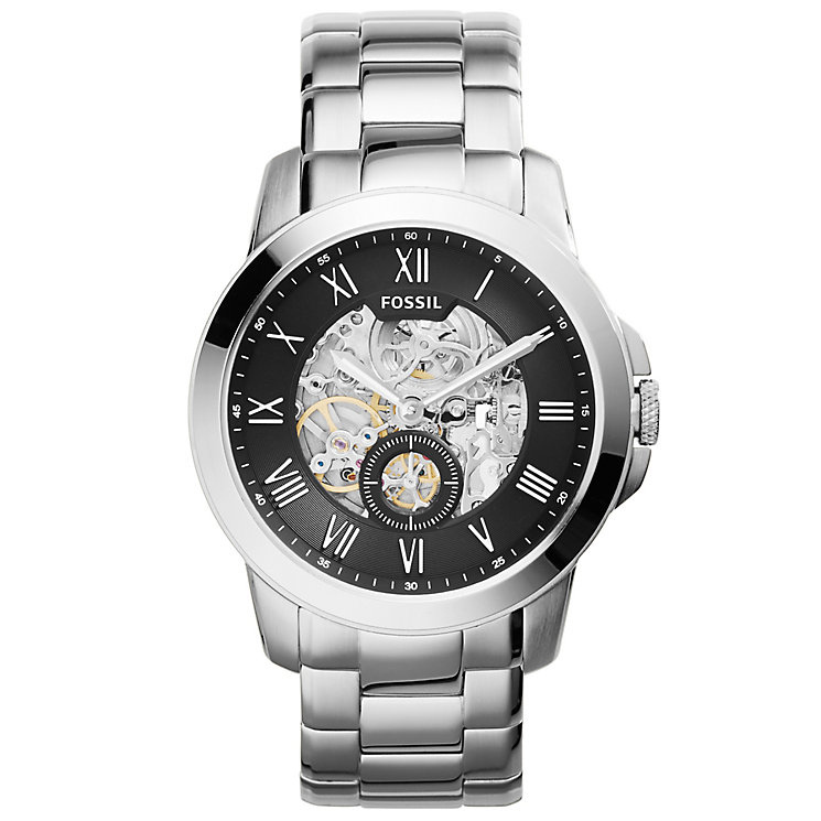 Fossil Grant Men's Stainless Steel Bracelet Watch - Product number 5141788